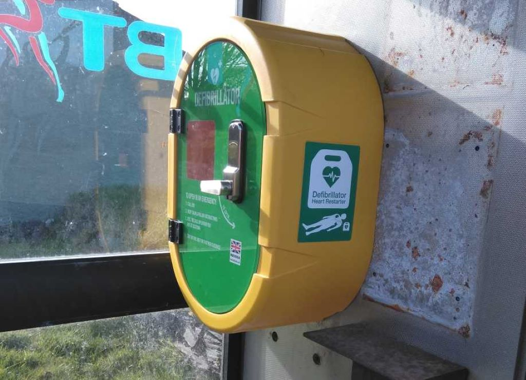 Telephone Boxes-Fives Lanes Defibrillator Now Live!